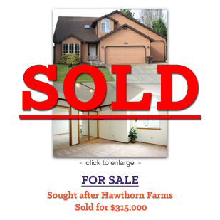 Sought after Hawthorn Farms