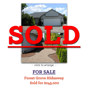 Forest Grove Hideaway